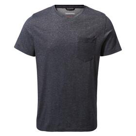 Craghoppers NosiLife Ina Short Sleeved T-Shirt Men blue navy marl